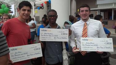 NobleHour Service-Learning Scholarship Winners