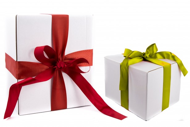 Give a gift that benefits a local organization.
