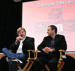 "Robert Redford speaks about ""The New Heroes"", a documentary about social entrepreneurs."