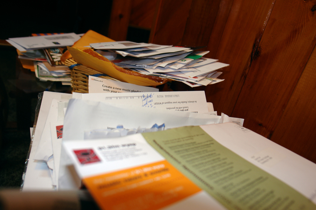 Become more sustainable by opting out of junk mail.