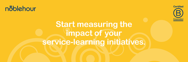Start measuring the impact of your service-learning initiatives.
